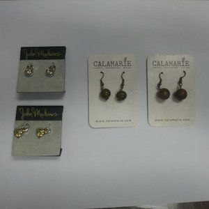 Jewelry - 2 sets Earrings and 2 Loop Accessories